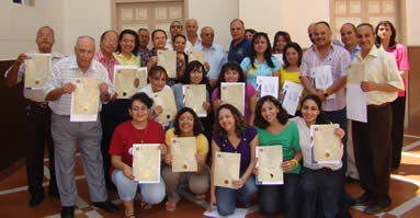 Port Saied: Prominent leaders receiving Certificates for Module 1 and 2