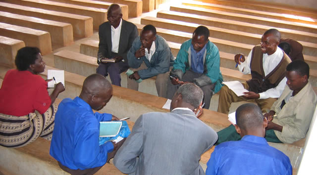 Training in a local church